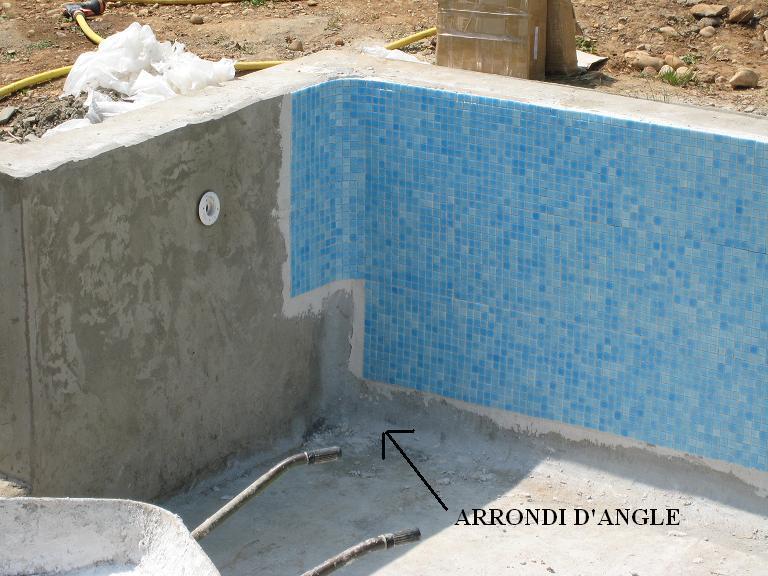 arrondis piscine