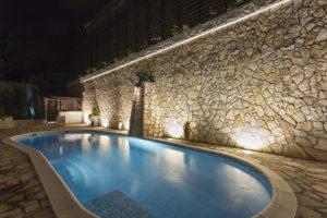 Le couloir de nage de luxe