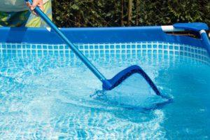 Entretien d'une piscine tubulaire