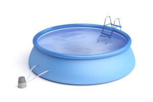 La piscine autoportante tout compris