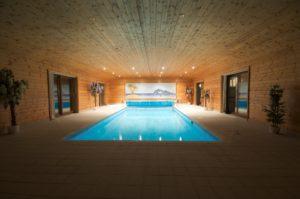 La piscine intérieure traditionnelle