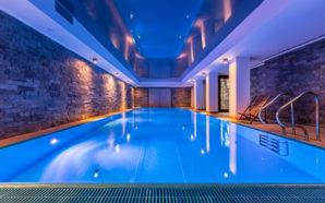 La piscine intérieure est un bonheur