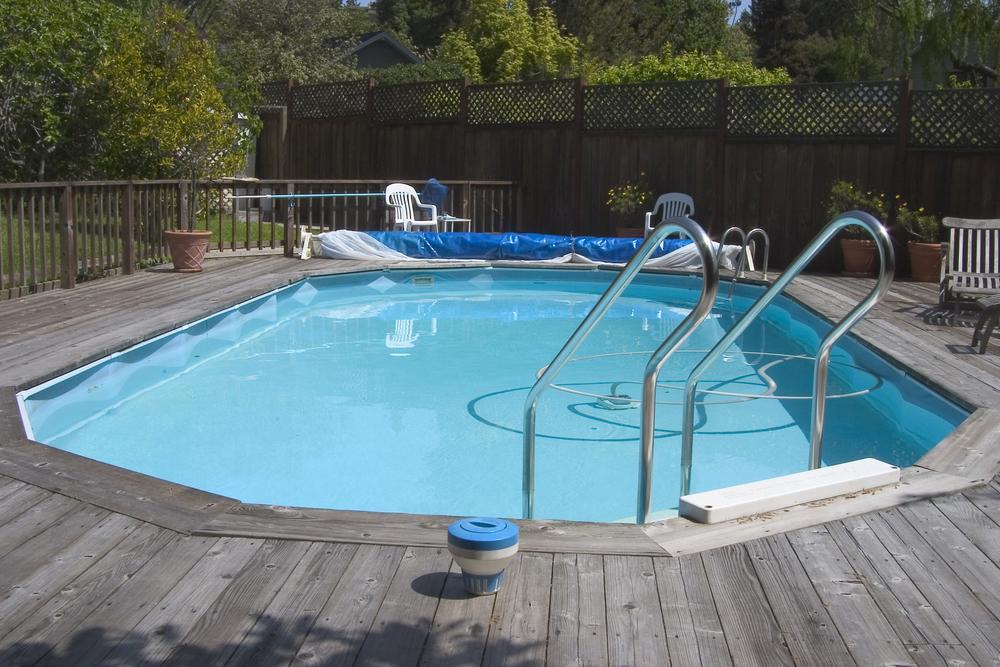 Piscine semi enterr e les prix les mod les et nos - Realiser sa piscine ...