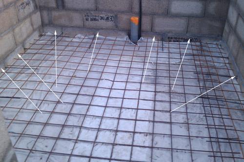 traçage cordon hauteur béton