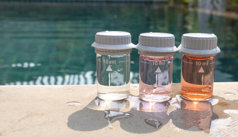 Test qualité eau piscine
