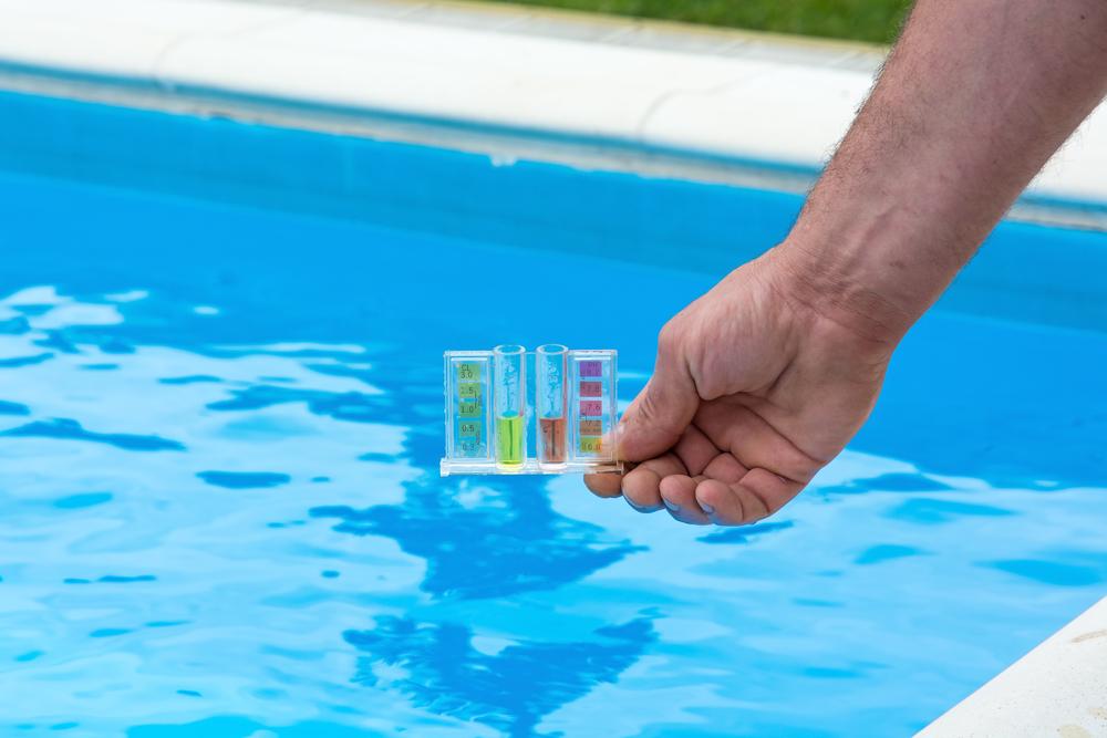 Outil pour vérifier la balance de taylor d'une eau de piscine