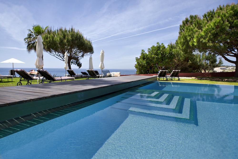piscine avec un bon pouvoir oxydant de l'eau