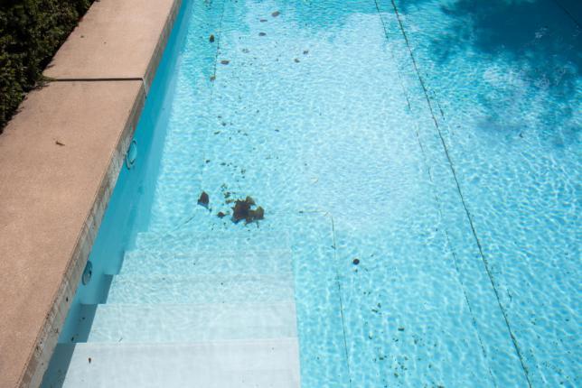 rouille piscine