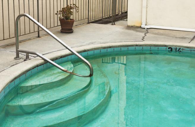 rouille piscine par corrosion