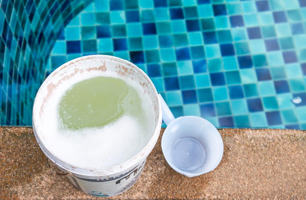dosage chlore pour le traitement d'une piscine