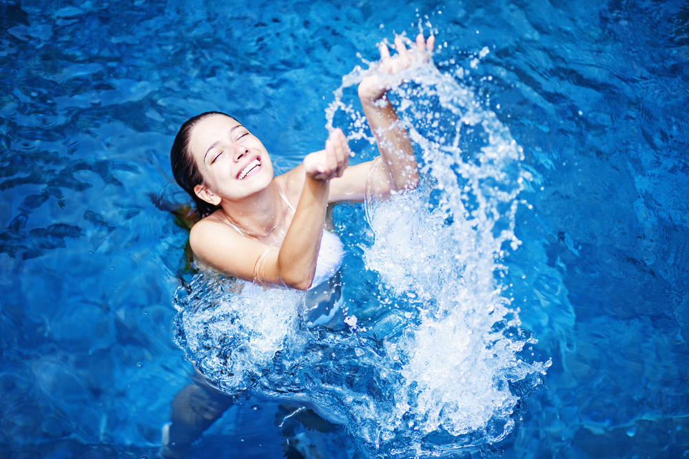 eau de piscine équilibrée