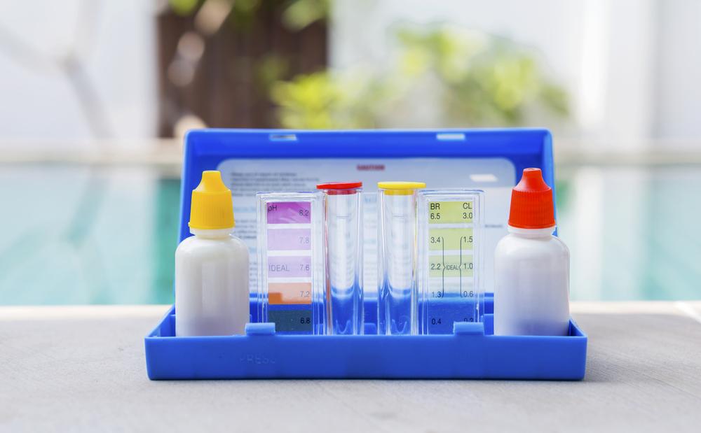 kit d'analyse eau d'une piscine
