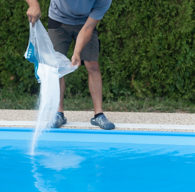 Traitement piscine par électrolyse au sel